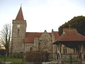 Filleigh - St Paul's Church, Filleigh, viewed from south