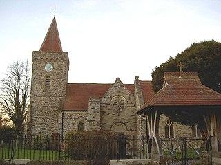 Filleigh village in the United Kingdom
