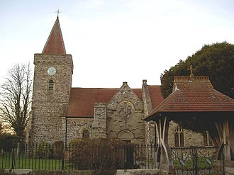 Filleigh - St Paul's Church, Filleigh, viewed from south
