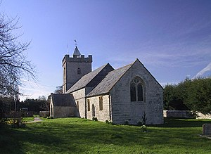 Catcott - Image: St Peter's Church, Catcott, Somerset. Part 13th Century. Grade 1 Listed Building geograph.org.uk 124501