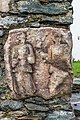 St Veit St Donat Pfarrkirche hl Donatus Kirchhofmauer 2 Gewändefiguren 18102015 8078.jpg