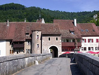 Saint-Ursanne - Image: St ursanne switzerland