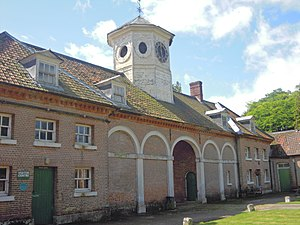 Wolterton Hall - Image: Stable Block at Wolterton Hall 17 August 2014