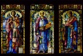 Stain glass in a church in Bretton Woods, New Hampshire LCCN2011636463.tif