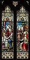 Stained glass window, All Saints' church, Upton cum Kexby, Lincs (18003415589).jpg