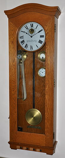 photograph of Master Clock