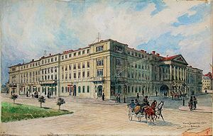 Diet of Galicia and Lodomeria - The former seat of the diet from 1861–1880, today the Maria Zankovetska Theatre