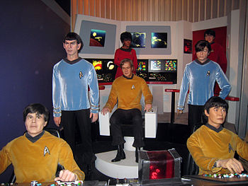 "Star Trek: The Original Series crew at ""T..."