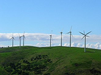 Starfish Hill Wind Farm - Image: Starfish Hill windfarm, Cape Jarvis