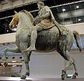 Statua equestre di Marco Aurelio, 176 dc. 02.JPG