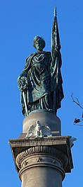 Statue atop Soldiers and Sailors Monument - panoramio.jpg
