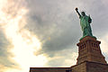Statue of Liberty with cloudburst.jpg
