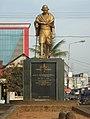 Statue of Mahatma Gandhi Perumbavoor.JPG