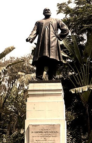 Surendranath Banerjee - Statue of Surendranath Banerjee