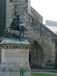 Statuia Sf. Gheorghe din Cluj.jpg