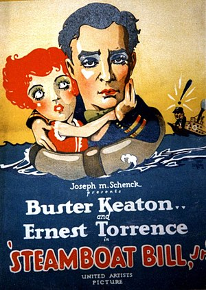 Steamboat Bill, Jr. - Theatrical poster