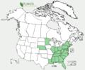 Stellaria pubera US-dist-map.png