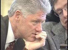File:Stephen Hawking at the White House with President Clinton.webm