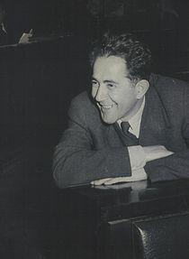 Stevan Kragujevic, Milovan Djilas,1950.JPG