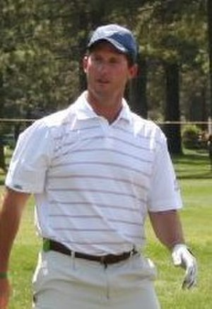 Steve Beuerlein - Beuerlein at a golf tournament in 2008.