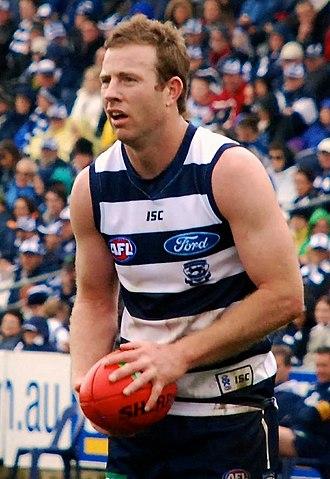 Steve Johnson (Australian footballer) - Johnson in July 2011
