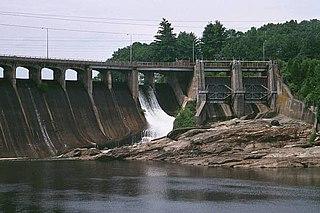Stevenson Dam Hydroelectric Plant