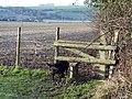 Stile at Bishopstone, Salisbury, Wiltshire - geograph.org.uk - 328925.jpg