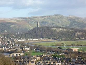 First War of Scottish Independence - The site of the battle of Stirling Bridge