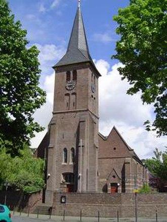 Bergheim, North Rhine-Westphalia - More-than-700-year-old church St. Johann Baptist (Niederaußem)