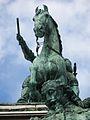 Stockholm. Gustav II Adolfs ryttarstaty på Gustav Adolfs torg (2).JPG