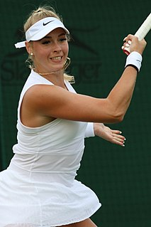Fanny Stollár Hungarian female tennis player