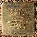 Stolperstein Albertinenstr 31 (Zehld) Paul Levy.jpg