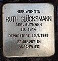 Stolperstein Duisburger Str 2a (Wilmd) Ruth Glücksmann.jpg