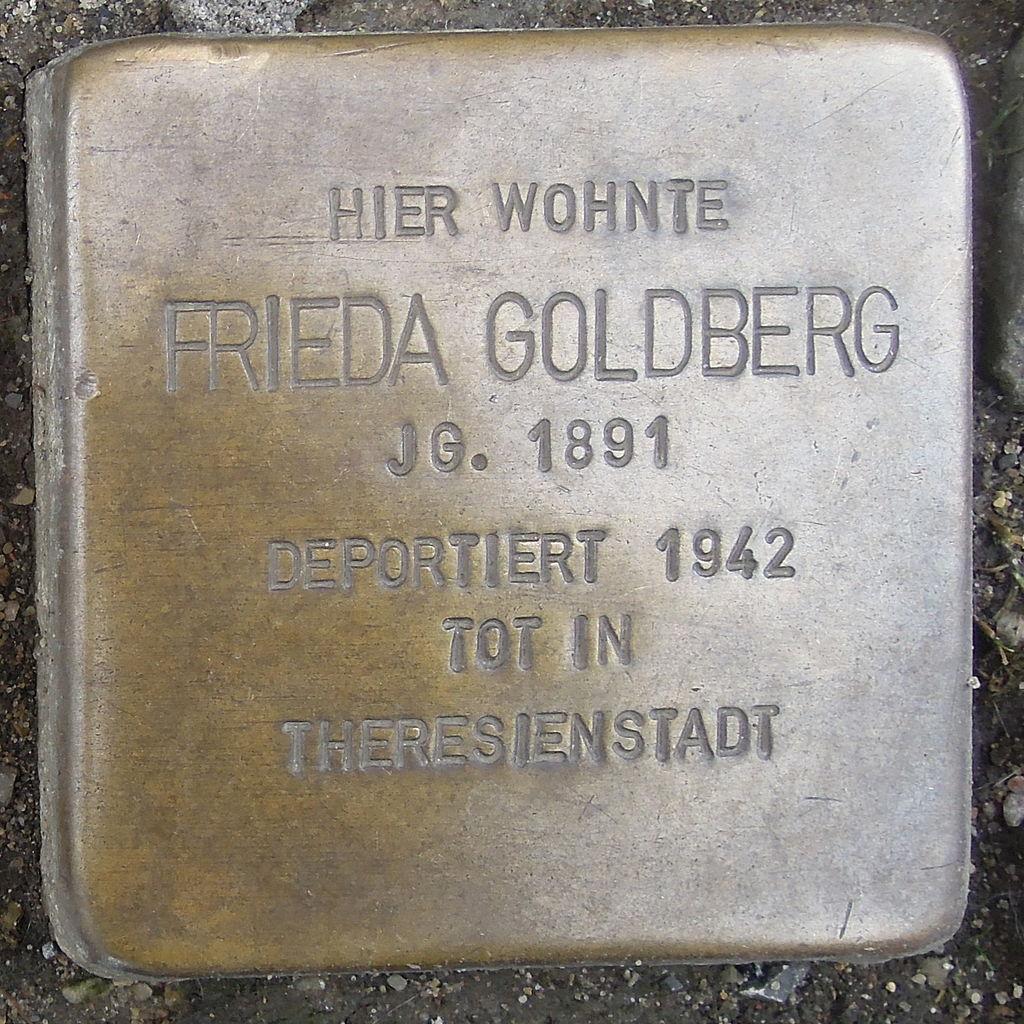 Stolperstein Herford Gehrenberg 12 Frieda Goldberg
