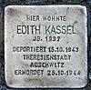 Stolperstein Wachsmuthstr 9 (Hermd) Edith Kassel.jpg