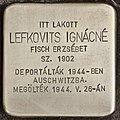 Stolperstein für Ignacne Lefkovits (Nyíregyháza).jpg