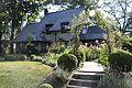 Stoneleigh house with flowers.JPG
