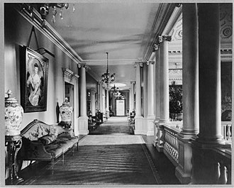 Whitemarsh Hall - Second Floor Hall