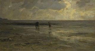 Beach at evening