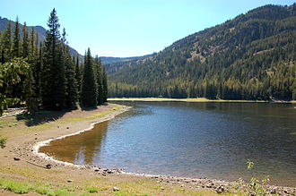 Strawberry Range - Strawberry Lake
