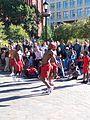 Street Performers in Washington Square - panoramio.jpg