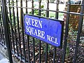 Street sign 'Queen Square' - geograph.org.uk - 1397703.jpg