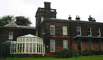 Sudley House - South facade of Sudley House