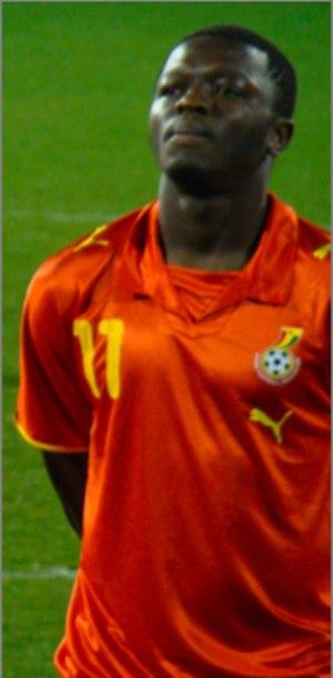 Sulley Muntari - Muntari with Ghana in 2008