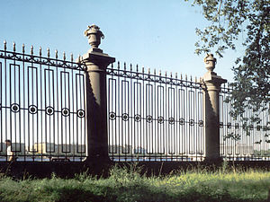 Yury Felten - Cast-iron railing of the Summer Garden in St Petersburg