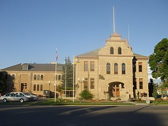 Summit County, Utah - Image: Summit County Courthouse Coalville Utah