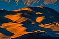 Sundown on the Dumont Dunes from the SW - near Shoshone, California (13843454183).jpg