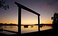Sunrise over the Noosa River. (18481139955).jpg