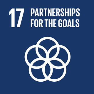 Sustainable Development Goal 17 The 17th of 17 Sustainable Development Goals to achieve a partnerships for the SDGs