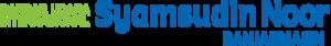 Syamsudin Noor International Airport - Image: Syamsudinnoorairport logo